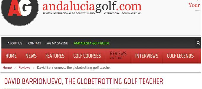 Articulo en Andalucia Golf