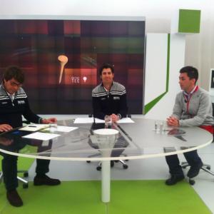 Entrevista en On the Tee de Canal+Golf