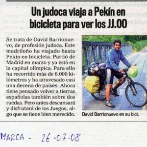 Artículo en Diario Marca