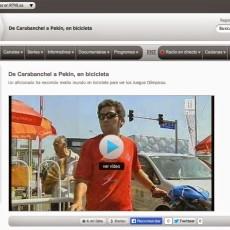 Entrevista TVE 1 durante Los Juegos 2008