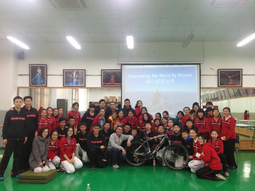 Charla Beijing Normal University