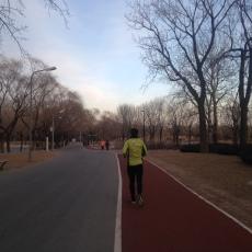 Correr en el parque