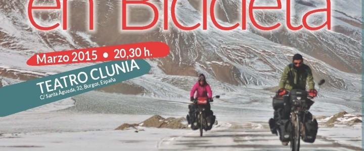 Cartel, El Mundo en bici, Burgos