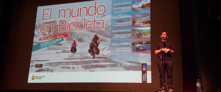 Charla en Teatro Clunia, Burgos
