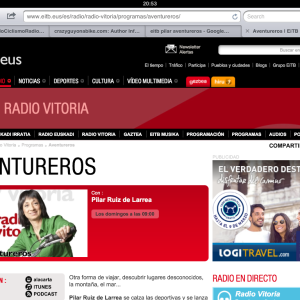Entrevista en Aventureros