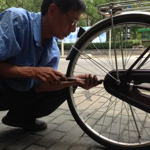 Arreglador de bicicletas