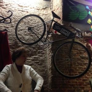 La bici en China, Cafe La Bicicleta