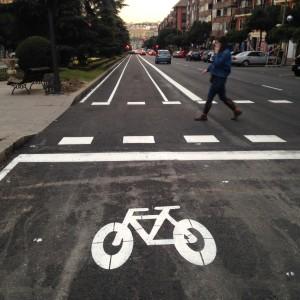 desde Carabanchel en bicicleta