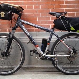 bikepacking test