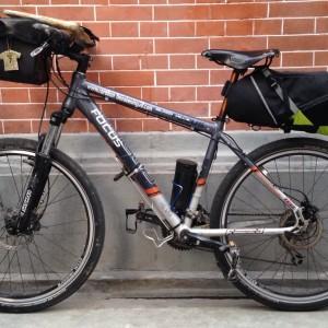 bikepacking test